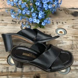 Amalfi for Nordstrom leather sandal size 8